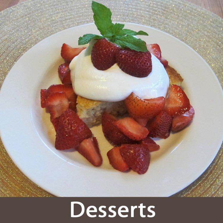 Desserts Recipes Fresh Food Bites Healthy Recipes