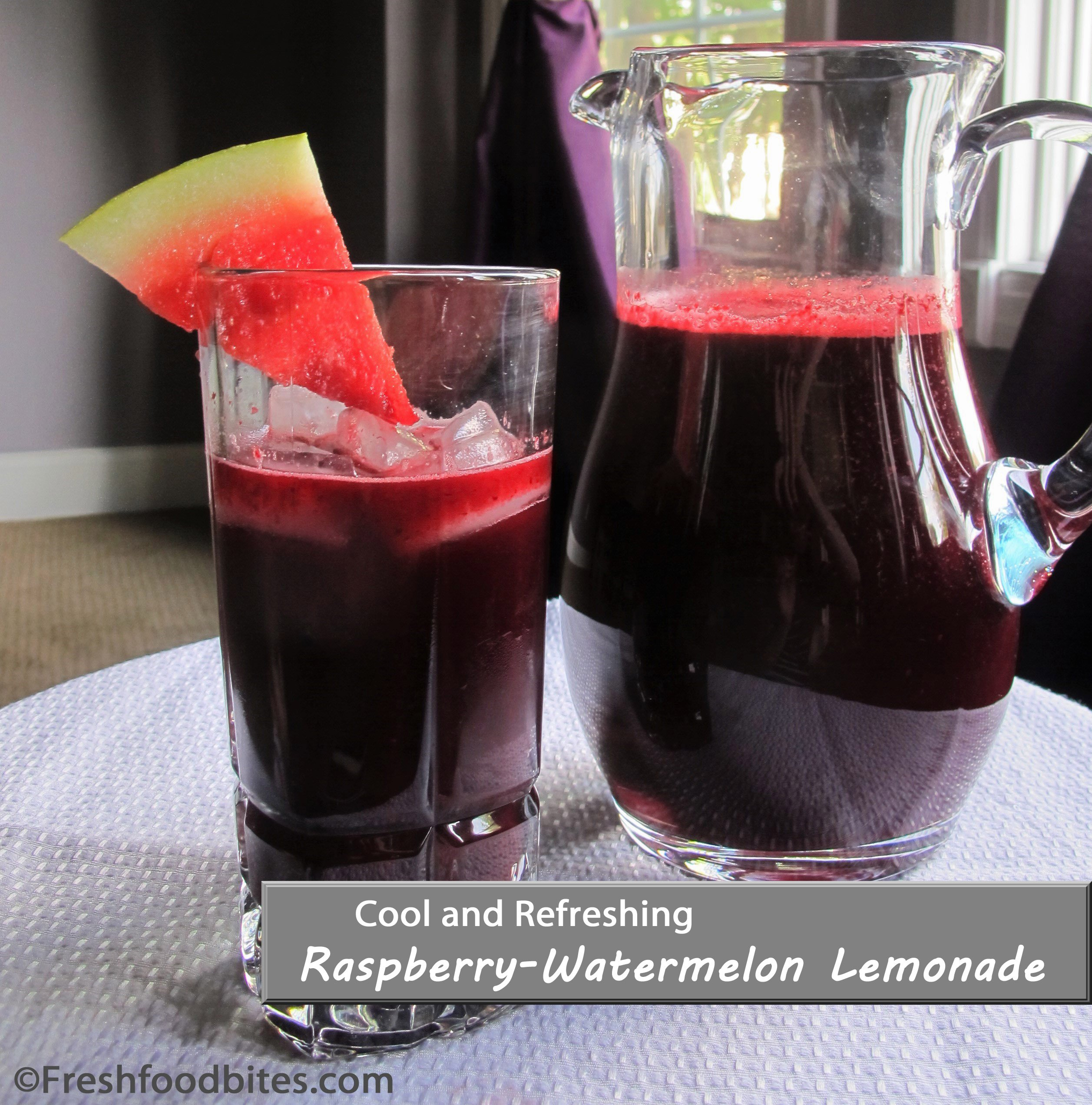 Raspberry-Watermelon Lemonade