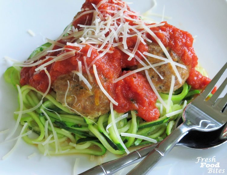 Five Ingredient Italian Meatballs (Fast with Five Fridays)