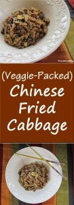 Give this Chinese Fried Cabbage a try for a break from the traditional high-calorie, high-fat fried rice. It's loaded with vegetables, tastes great, and is quick to make.