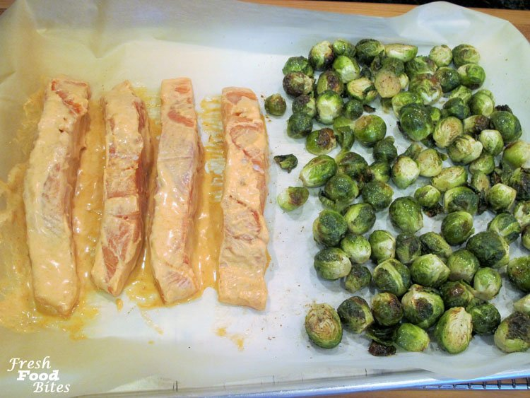 Who says cooking salmon has to be reserved for a gourmet weekend meal? Make this easy Sheet Pan Coconut Curry Salmon and Brussels Sprouts on a weeknight when you don't have a lot of time to cook. It's full of healthful nutrients, such as omega-3 fats and antioxidants, which help reduce your risk for cancer and heart disease.