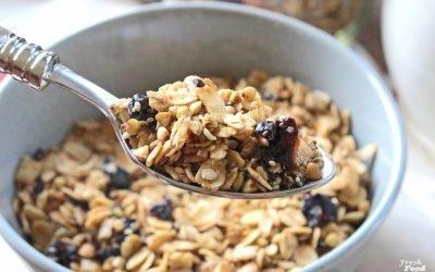 Crunchy Nut Free Granola Recipe