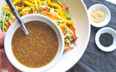 Asian Sesame Ginger Vinaigrette
