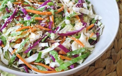 Cilantro-Lime Cabbage Coleslaw (Dairy Free)