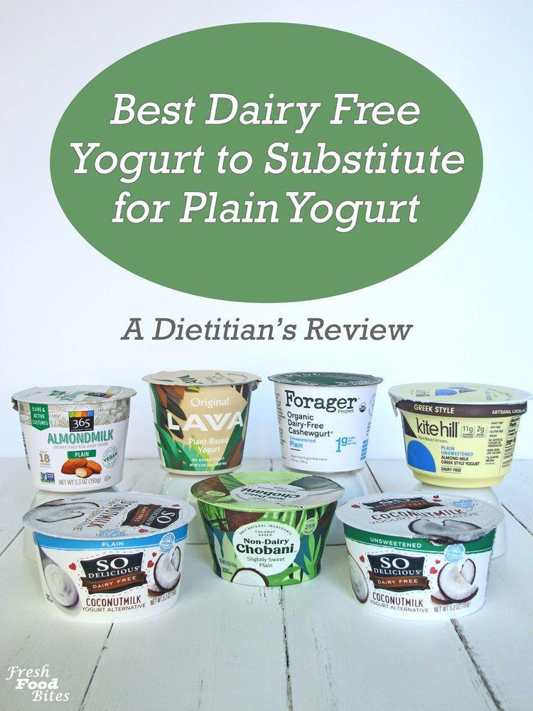 When it comes to the best dairy free yogurt to substitute for plain yogurt, there is a clear winner, one that tastes great and is also versatile. In this blog post, I share the results of my review of 7 different plain dairy free yogurts. This was not a sponsored post, and I didn't receive any payment or free product to write this so all opinions are 100% my own and unbiased!